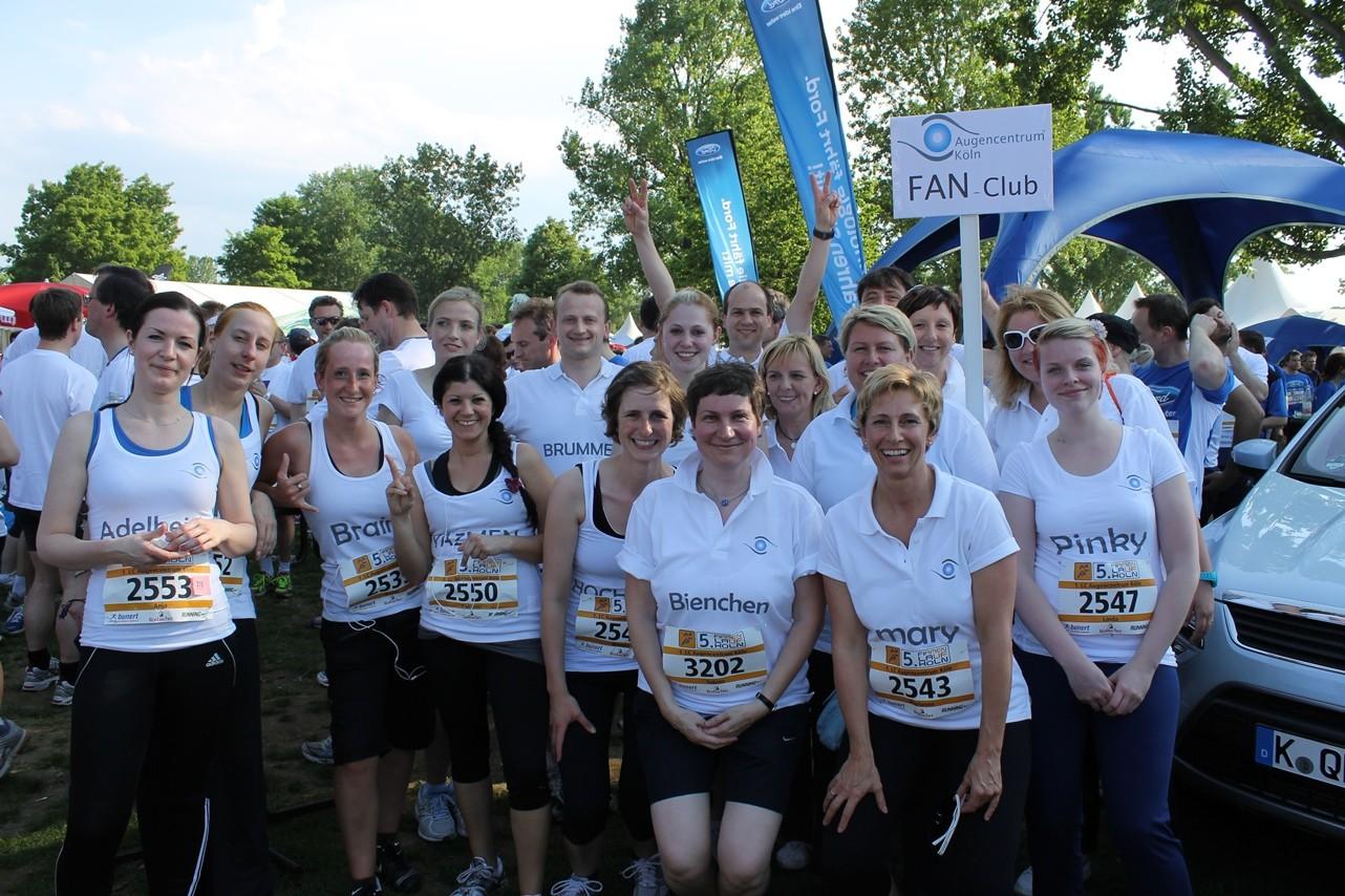 """Der Firmenlauf """"RUN AS YOU AE"""" war ein voller Erfolg für das Smile Eyes Team aus Köln"""