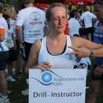 "Smile Eyes Mitarbeiterin beim Firmenevent ""RUN AS YOU ARE"" im Rheinland"
