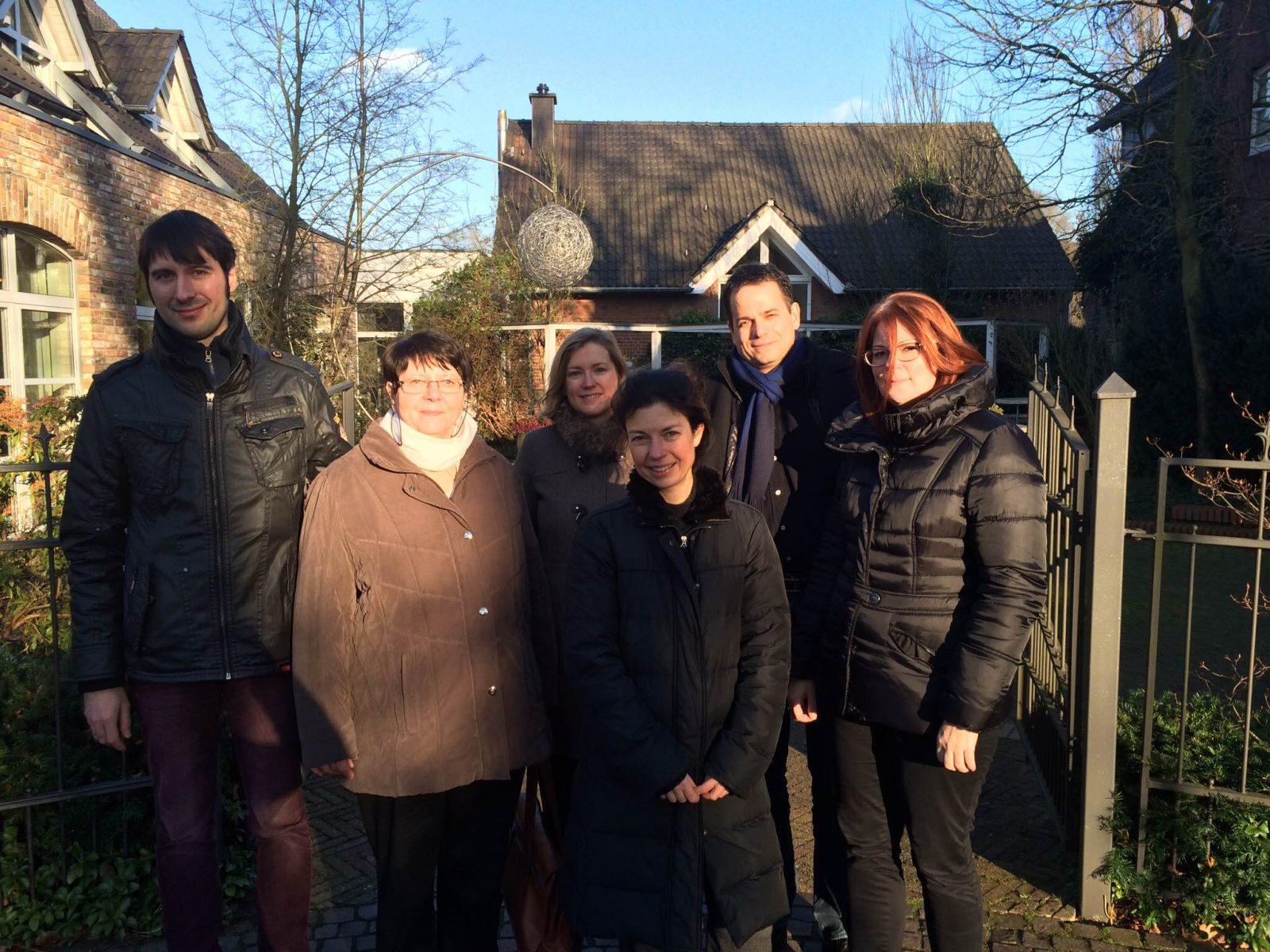 Das Smile Eyes Team aus Essen bei Ihrer Tagung im Landhotel Voshövel