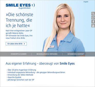 Melanie Keller, OP-Schwester bei Smile Eyes