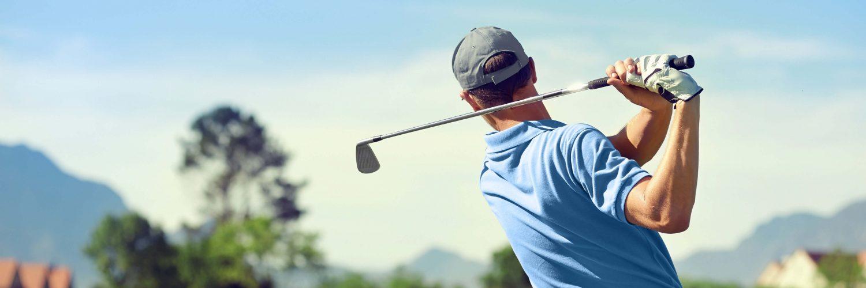 Abschlag zur Smile Eyes Golftrophy 2015
