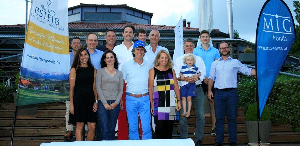 Die Gewinner des letzten Qualifikationsturniers bei der Smile Eyes Golftrophy 2015