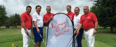Smile Eyes bei der 11. Kölner Golfwoche