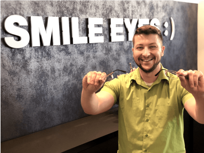 Smile Eyes Leipzig Mitarbeiter André