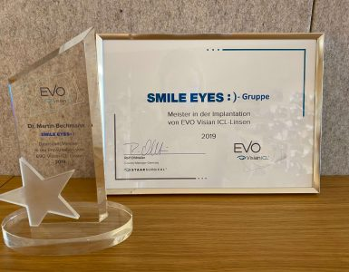 Smile Eyes Gruppe ist Meister in der ICL Implantation