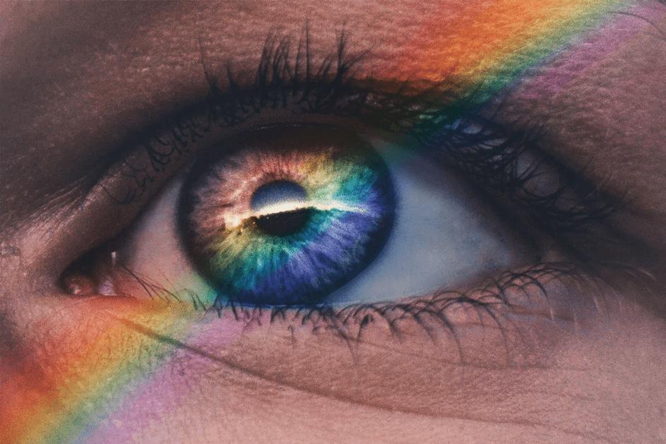 Unterschiedliche Augenfarben