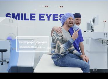 SMILE-Augenlaser-OP bei Ben Blaskovic