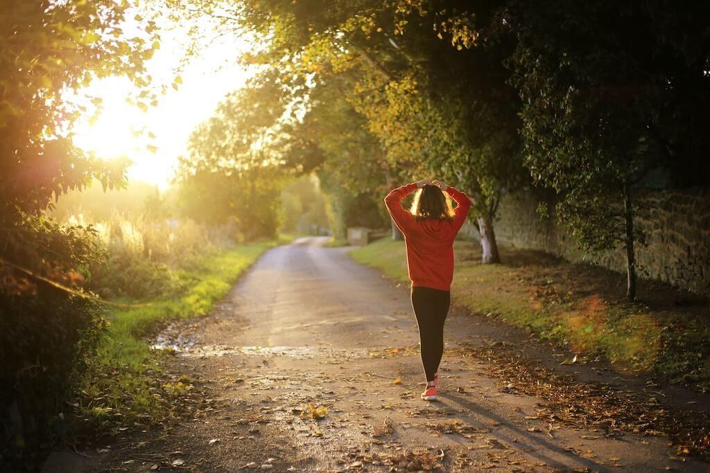 Körperliche Bewegung hilft auch den Augen
