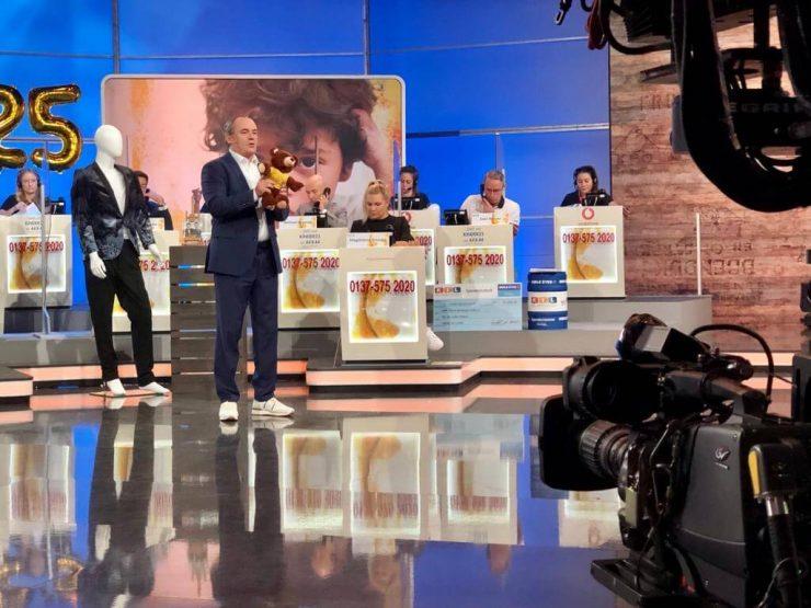 Blick hinter die Kulissen beim RTL Spendenmarathon