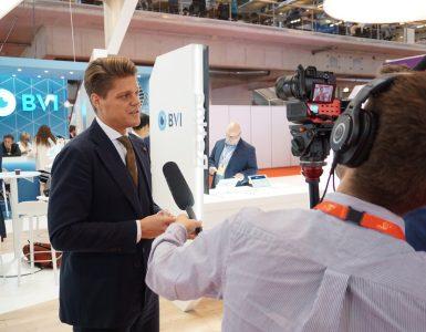 Dr. Dirisamer als Interviewpartner auf der ESCRS