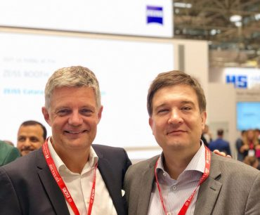 Dr. Wiltfang und Dr. Kiraly auf der ESCRS 2018 in Wien