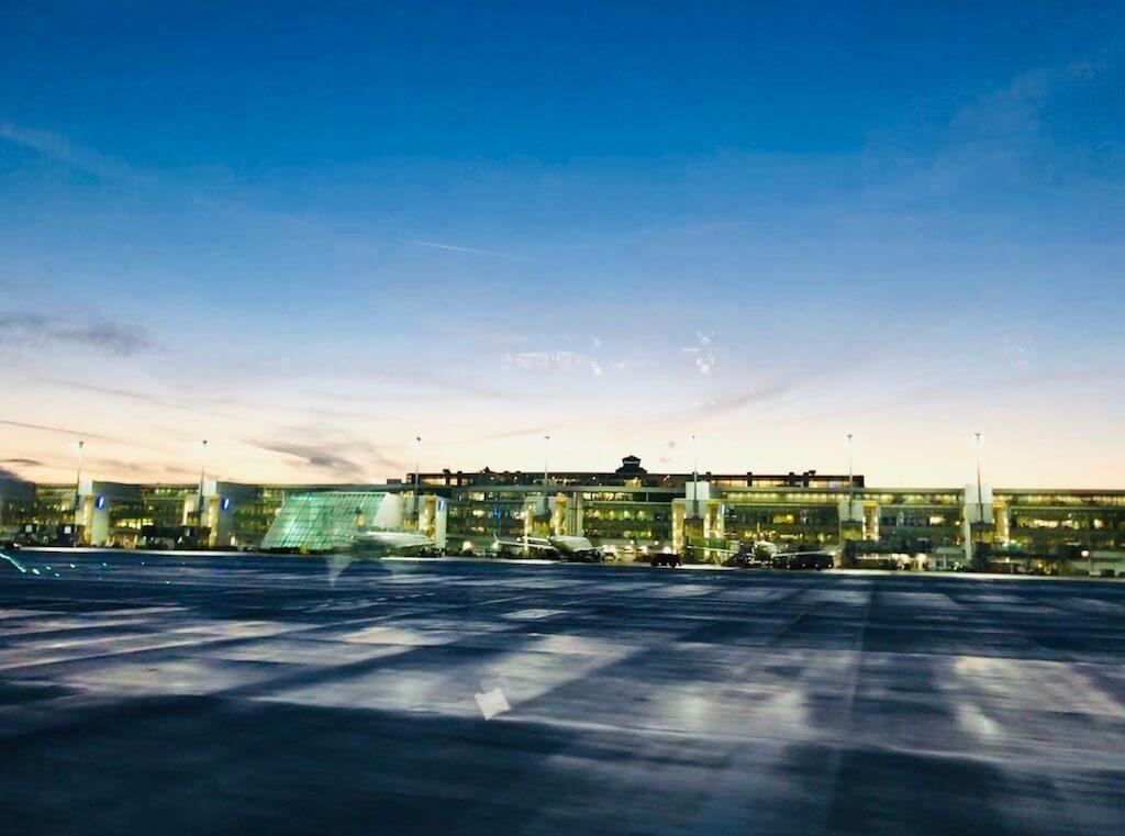 Lichterfahrt mit Smile Eyes am Flughafen München