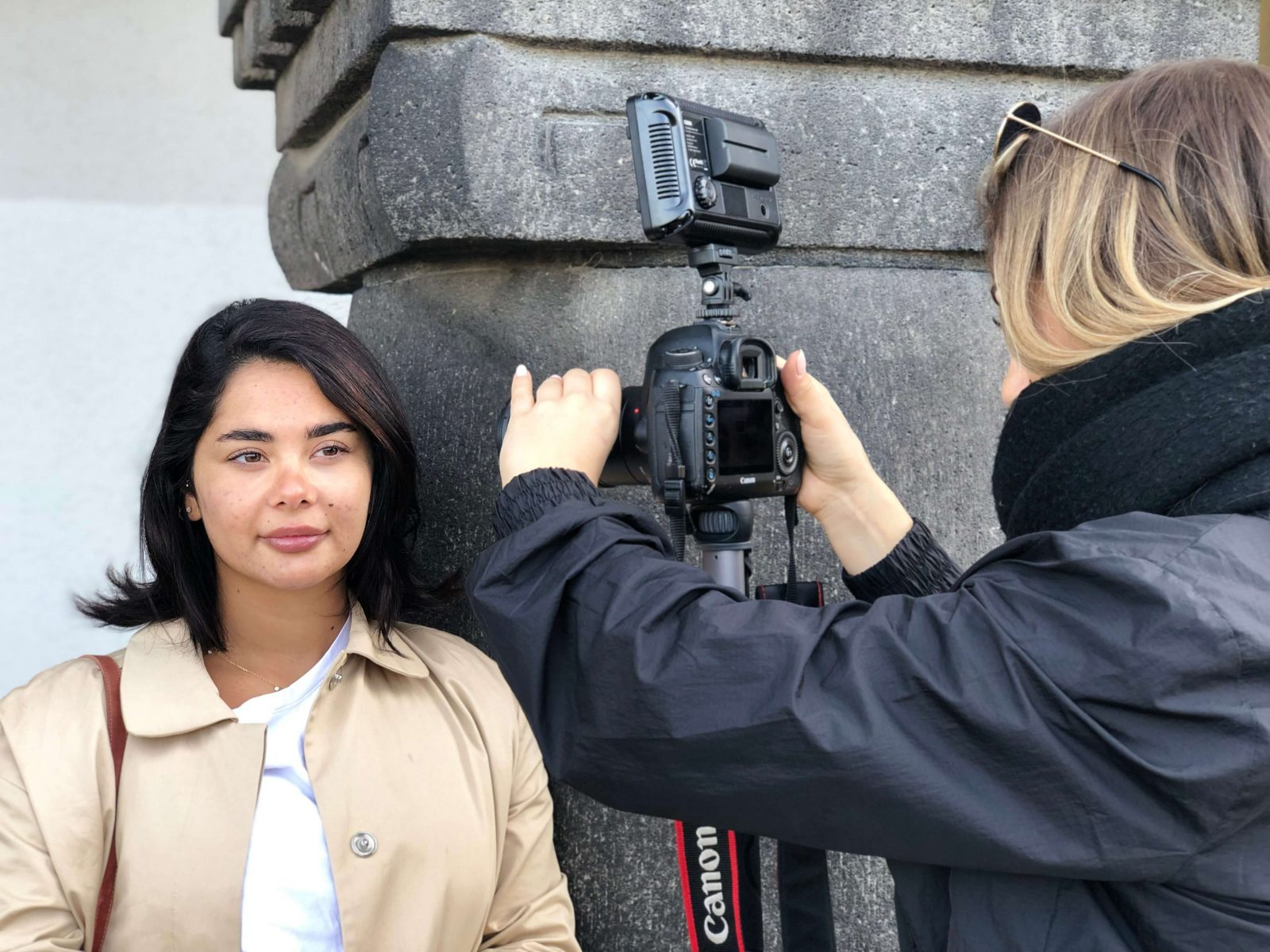 Bloggerin Taraneh ohne Brille nach dem Augenlasern