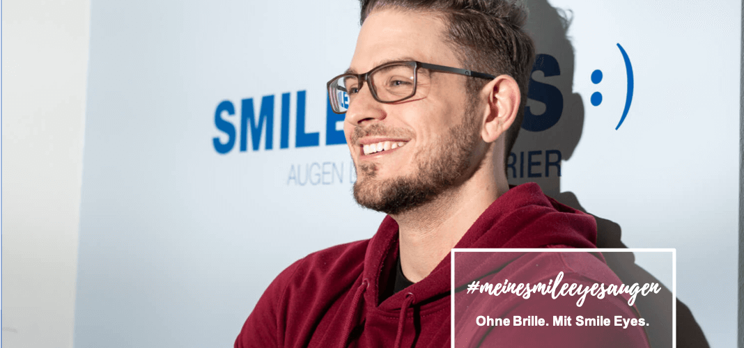 Basketballprofi als Patient bei Smile Eyes