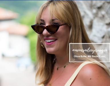 Bloggerin Verena Prechtl lässt sich die Augen lasern