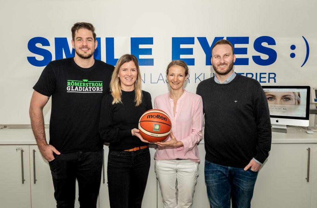 Sponsoring der Basketballprofis