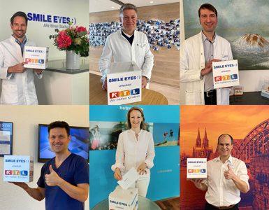 Smile Eyes Ärzte spenden
