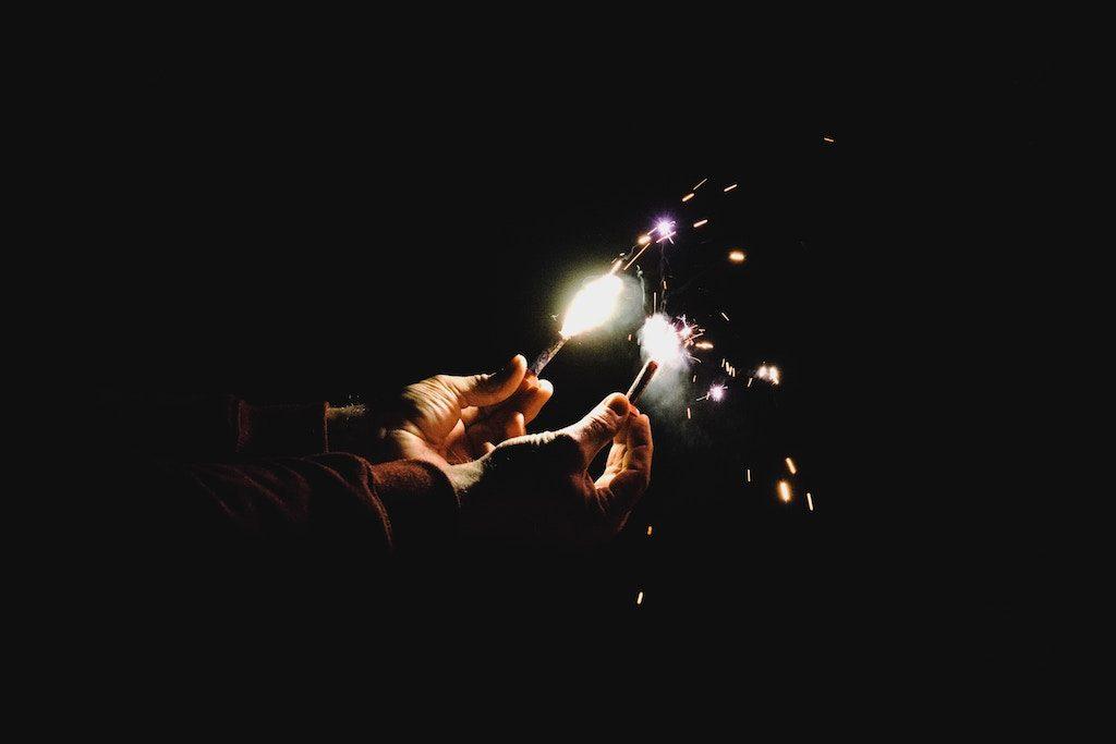 Vorsicht mit Feuerwerk an Silvester