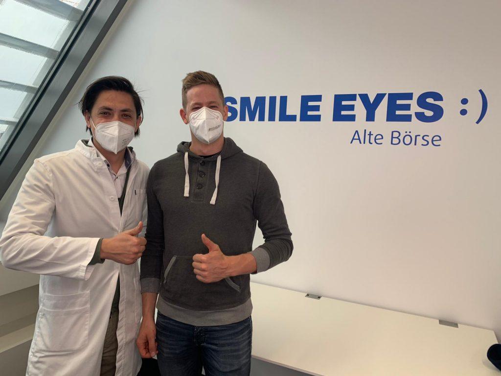 Erster Tag nach der Augenlaseroperation
