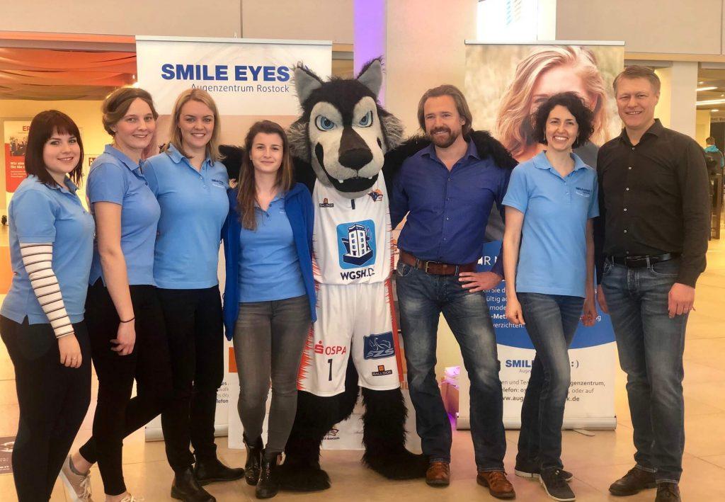 Rostock Seawolves Heimspiel präsentiert von Smile Eyes