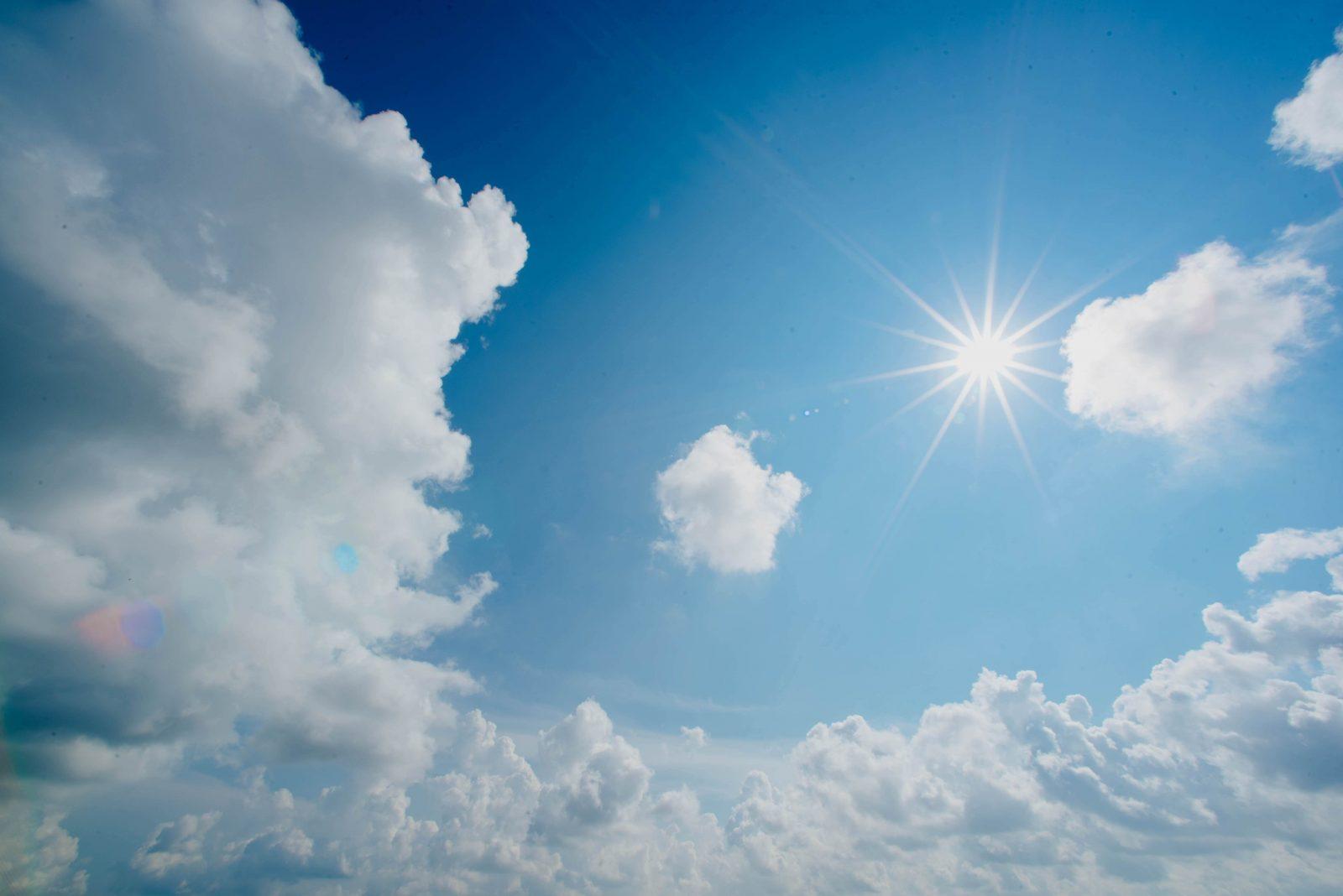 Sonnenstrahlen sind gefährlich für Augen