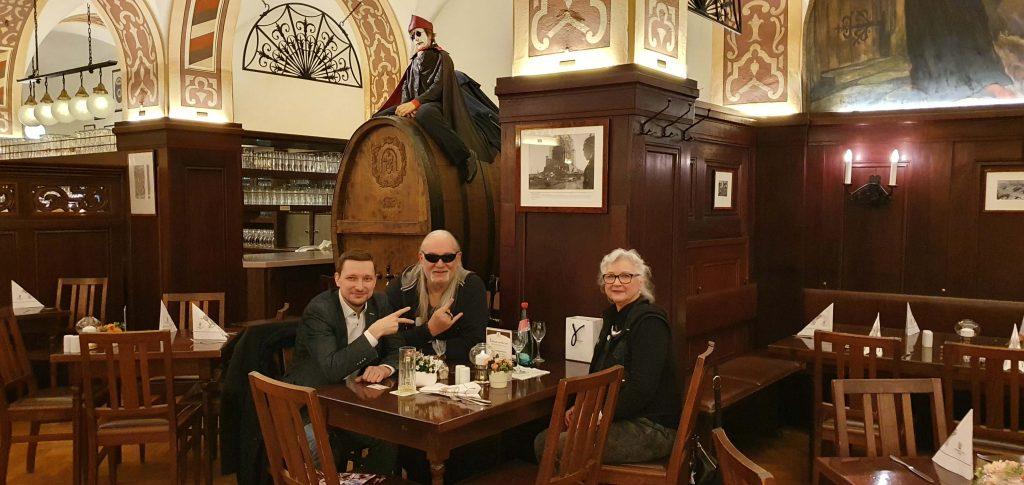 Scorpions Gründer zu Besuch in Leipzig