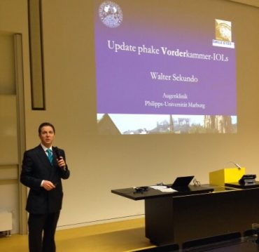 Fortbildungskurs in Frankfurt Vortrag Professor Sekundo