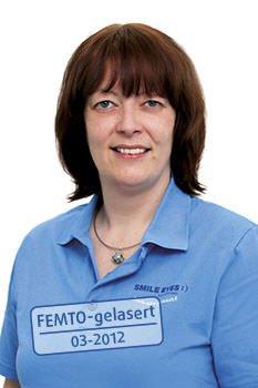 Smile Eyes Rostock Mitarbeiterin Ulrike Hahn