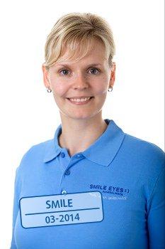 Medizinisches Fachpersonal bei Smile Eyes Linz - Katharina Schinkel