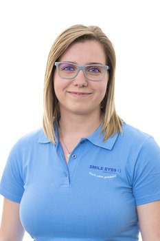 Carolin Bärthel - Augenoptikerin bei Smile Eyes München