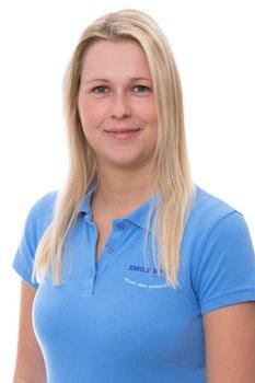 Krankenschwester Bettina Wagner arbeitet bei Smile Eyes München