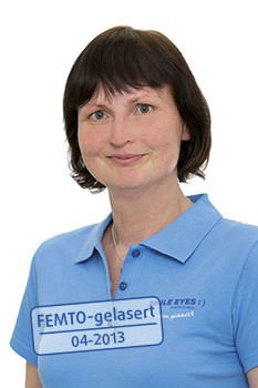 OP-Leiterin Kathrin Kresin von Smile Eyes Rostock
