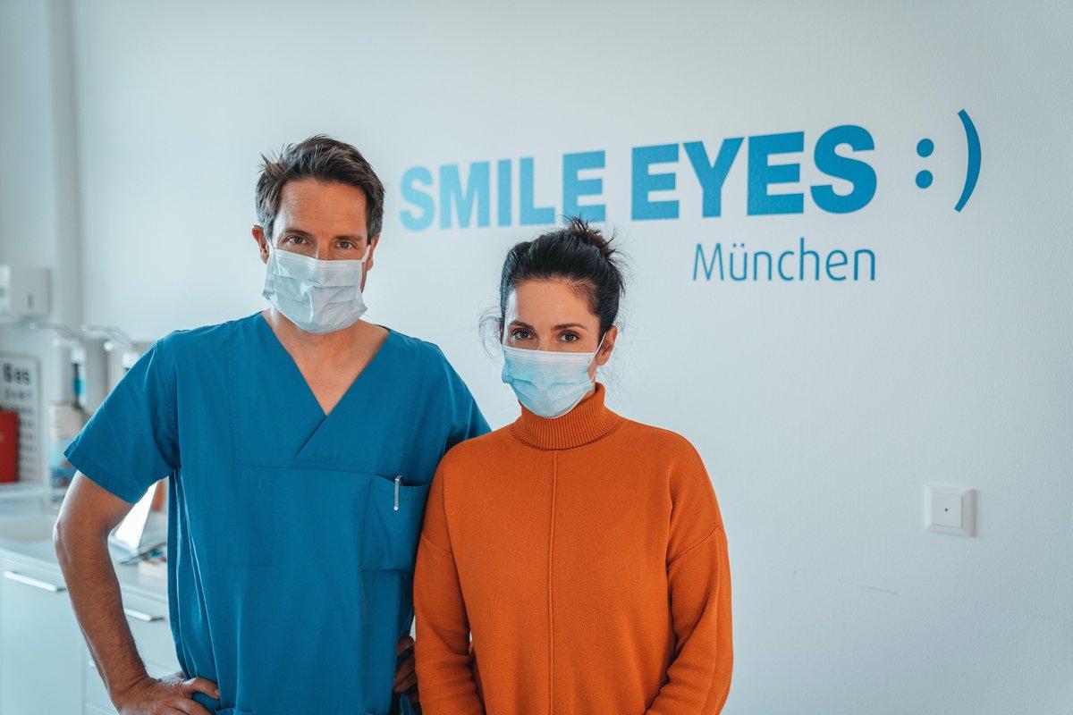 Erste Patientin in Deutschland bekommt bei Smile Eyes München die ICL ab 45