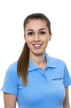 Medizinische Fachangestellte bei Smile Eyes München: Farah Ghulam