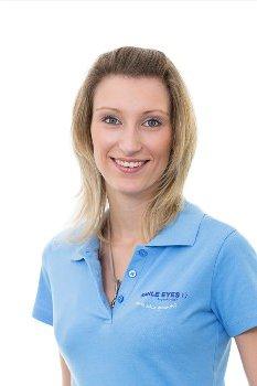 Orthoptistin bei Smile Eyes Leipzig: Nadja Parthen