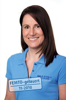 Medizinische Fachangestellte bei Smile Eyes München: Alexandra Sleegers