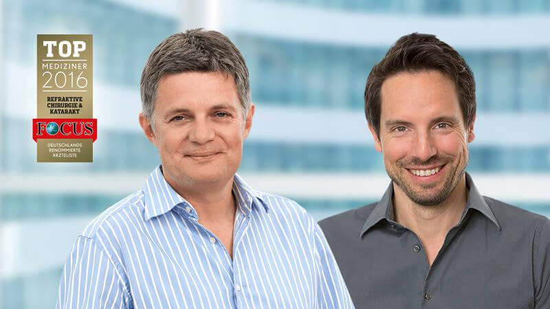 Unsere Augenspezialisten in München gehören zu den Top Mediziner 2016