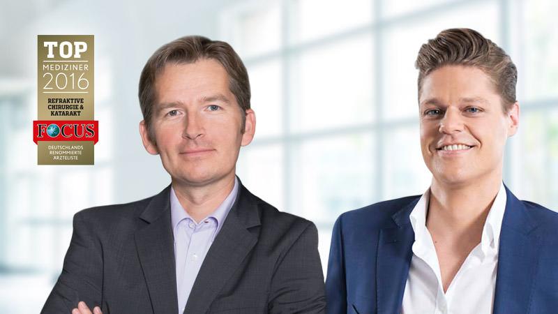 Dr. Siegfried Priglinger & Dr. Martin Dirisamer gehören zu den Top Mediziner 2016