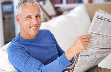 Scharf sehen im Alter dank Augenlasern